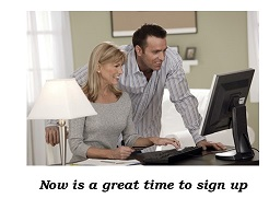 Online Banking Sign up Pic